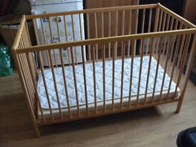 Cot bed from Ikea