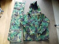 waterproof camouflage suit