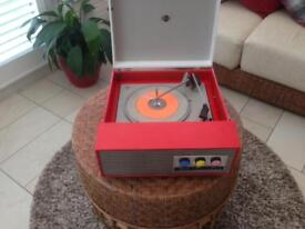 Retro 1960 Record Player