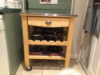 Kitchen trolley /butcher table