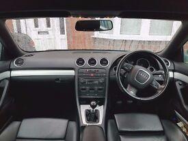 Audi A4 2.0 TDI S-Line CABRIOLET 2dr