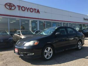 2006 Toyota Corolla XRS, Manual, Rare, One Owner, Local Trade,