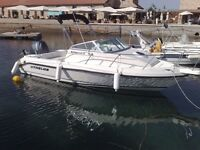 21 Walkaround Speed Boat, 6.32 meters long, built in 2007. F115 Yamaha Outboard Engine