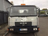 7.5t Dropside Lorry surplus to requirements. Flat back approx 6.7m x 2.4m. Handsfree Parrot & radio