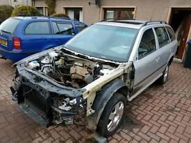 Breaking for spares mk1 skoda octavia estate turbo 4x4 petrol