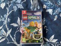 Nintendo Switch LEGO WORLDS Game ***Like NEW***