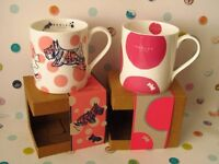 Radley Mugs - Brand New in Boxes