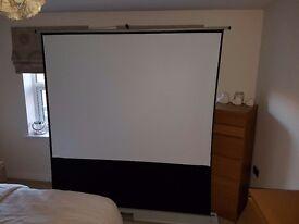 Metroplan floor projector screen