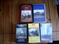 VHS Railway Video's