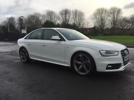 Audi A4 2.0 TDI 150 BLACK EDITION 4 dr