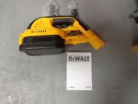 DeWALT BATTERY HOOVER