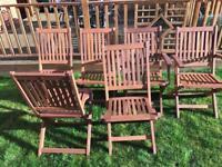 Garden furniture chairs
