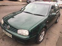 VW GOLF GTI 20V manual 5 door **1 prev owner last owned 14 years**