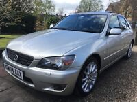 Lexus IS200se Auto. **LOW MILEAGE, PRISTINE **