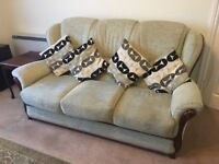 3 + 2 Seater Sofas / Settee with cushions