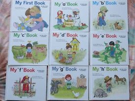 MY FIRST STEPS TO READING BOOKS