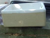 Vintage Belfast Sink - suitable for garden use