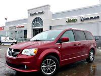 2014 Dodge Grand Caravan Leather 17 Alloys Stow N Go Rear A/C Am
