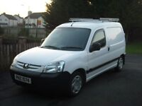 2008 peugeot partner van 1.6 hdi 105548 miles tested to 29th august 17