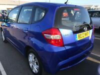 FINANCE £115 PR MONTH 2012 HONDA JAZZ IVTEC ES CVT 1.4 AUTOMATIC 32K MILES, 2 KEYS 1 PREV OWNER