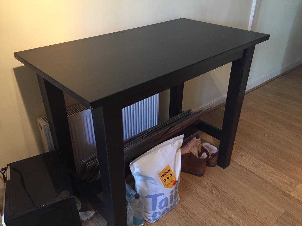 Free Ikea Stornas Brown Black Breakfast Bar Table In Redland Bristol Gumtree