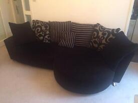 Large Pillow Back Lounge sofa