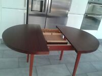 Mahogany Extendable Dining Table