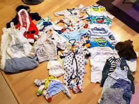 Boys boy clothes bundle 0-3 months