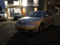 Toyota Corolla 2.0 diesel Manual 55 reg owned since new