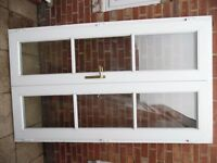upvc french doors with 1 key