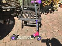 Girls scooter.