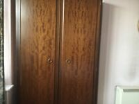Four Pieces of Mahogany Stag Minstral Bedroom Furniture in Excellent Condition £350 Bolton Area.