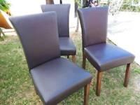 3 elegant chairs