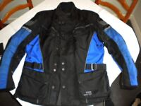 Quality GORE-TEX Motorcycle Jacket with CE Protection and Thermal Liner