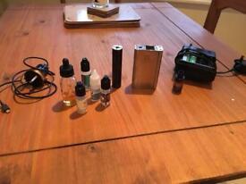 Smok cube x2 vape and aspire k4 vape battery