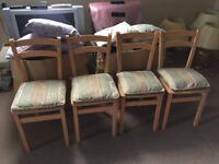 4 x kitchen chairs