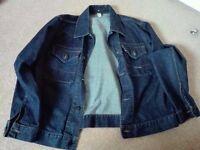 Stone island authentic summer jacket from cruise denim jacket