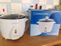 Cookworks Rice Cooker - like new