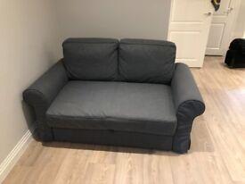 Ikea BACKABRO Two-seat sofa-bed COVER Nordvalla dark grey