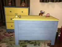 Children's bedroom playroom furniture storage