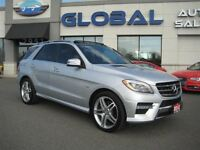 2012 Mercedes-Benz M-Class ML 550 4MATIC  V-8 400 HP