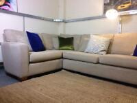 Roger Lewis Corner Sofa in hardwearing soft fabric