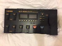 Boss GT-100 Guitar Multi FX Pedal