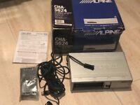ALPINE sat nav/cd stereo & 6 disc changer pack