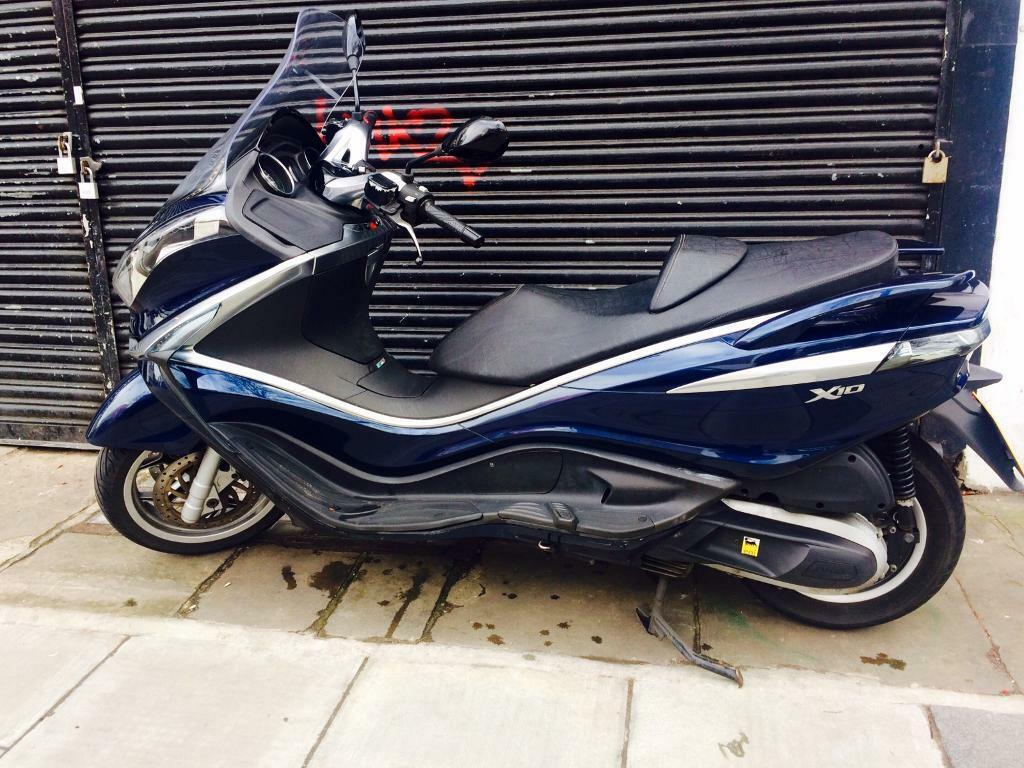 superb maxi scooter piaggio x10 350 not vespa honda yamaha 300 500 in london gumtree. Black Bedroom Furniture Sets. Home Design Ideas
