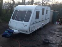 2001 Clarion Herald 4 berth caravan and awning. Fully equipped with everything working