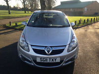 Vauxhall Corsa SXI (2011) 1.2cc One Lady owner AirCon Mot Hpi Clear Mint Condition - P/x welcome
