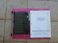 Motorola MVME-202 512kB double eurocard VME board (two off) (used) with manual