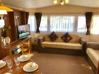 🔥🔥DG & CH STATIC CARAVAN FOR SALE AT CRESSWELL TOWERS HOL PARK - PET FRIENDLY - LOW FEES🔥🔥