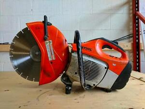 HOC - STIHL QUICK CUT OFF SAW CONCRETE SAW TS420 + BLADE + WATER KIT + 30 DAY WARRANTY + FREE SHIPPING